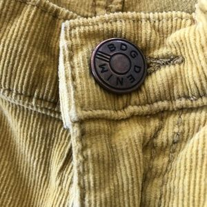 Urban Outfitters Pants - Urban Outfitters BDG Women Yellow Corduroy Skinny